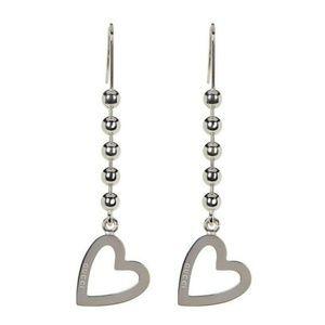 🔥Gucci🔥Toggle Heart Linear Drop Earrings